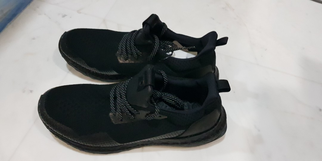 08aed4f99 US 10 Adidas haven consortium triple black ultra boost