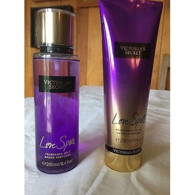 9f331ef056daa Victoria Secret Body Mist&lotion