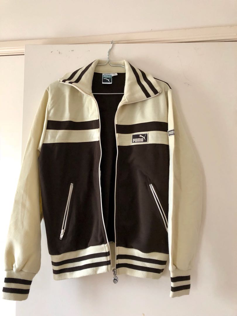 Vintage Original PUMA Boyfriend Sweater Zip Jacket