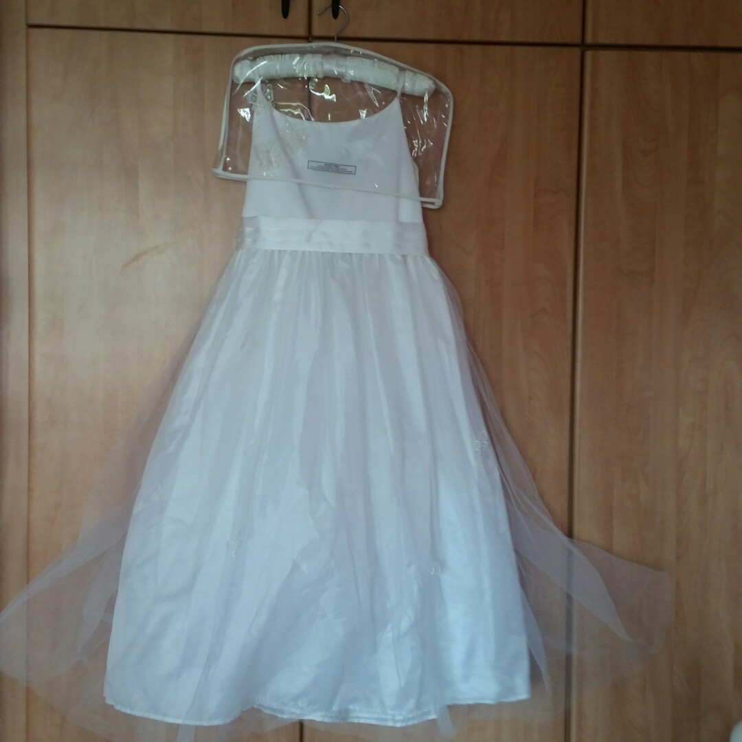 aeccb6e9e59 White flower girl dress. Tigerlily dress