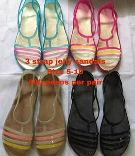 Jelly sandals for women size 5-9