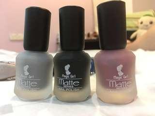 Matte series Nail polish