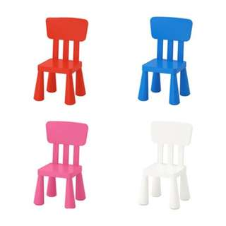 [IKEA] MAMMUT Children's chair, in/outdoor 4color