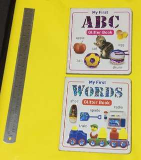 Board Book for Toddlers (2 books)