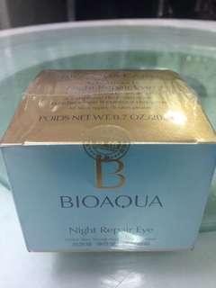 Bioaqua Night Repair Eye Cream