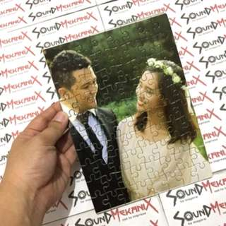 Personalized tumbler and picture puzzle