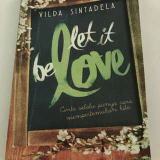 Novel Indonesia bekas Let It Be Love