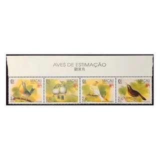 澳門郵票一套。全新