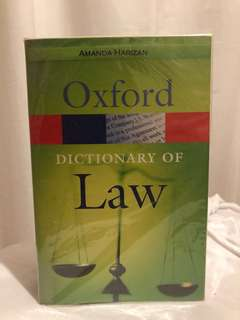 Oxford Law Dictionary