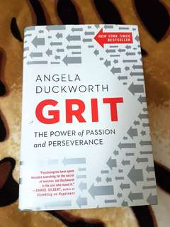 Angela Duckworth's Grit