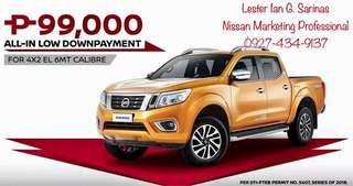 Nissan ALL-IN LOW Downpayment Promos