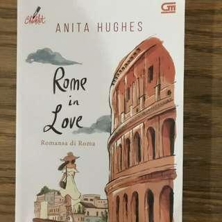 Novel Indonesia bekas Rome in Love