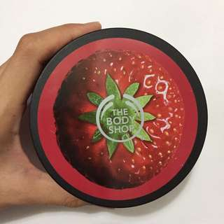 Original - The Body Shop Strawberry Body Butter 400mL