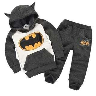 (PRE-ORDER) BATMAN HOODIES SETS FOR BOYS & GIRLS