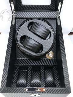 Carbon fibre 2+3 Watch Winder