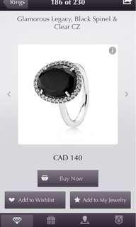 Pandora black stone