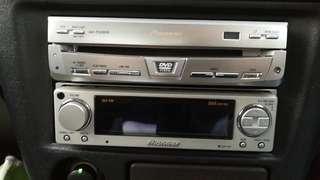 Pioneer P9R + Carrozzeria ODR RS-P70Xii + Pioneer AVX-P7650DVD