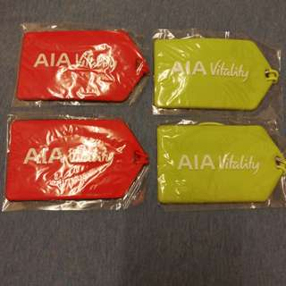 AIA luggage tag