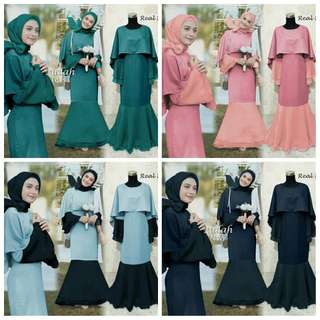 ALL Varian Baju Gamis Pesta INDAH by pgms collections