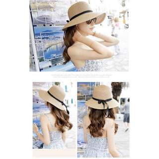 🚚 度假草帽👒米白色