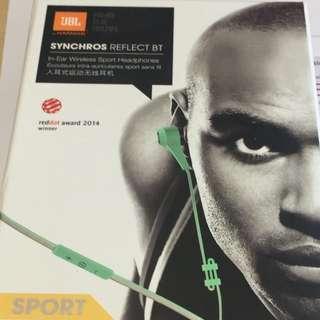 JBL synchros reflect bt earphones