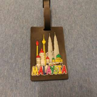 Klcc luggage tag