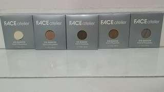 BNIB FACE atelier eyeshadows