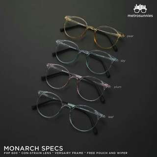 Monarch Specs (anti-radiation)
