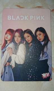 Yes Card !  BlackPink