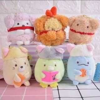 Sumiko gurashi soft Toy keychain