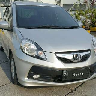 Honda BRIO CBU 1.3 AT 2012 silver metalik / UM 9.9 jt
