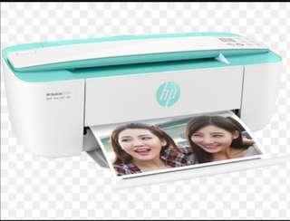 HP DESKJET 3721多合一打印機 deskjet printer