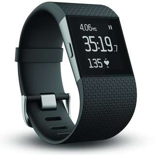 [BNIP] Fitbit® Surge XL Black Fitness Super Watch