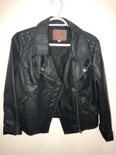 Leather Jacket (with studs)