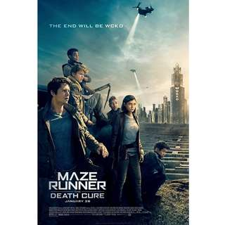Maze Runner: The Death Cure - Movie - 2017 - 1080p Resolution -Bluray Quality