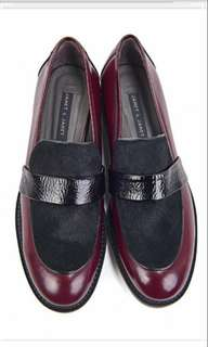 🈹Janet & Janet loafers 真皮休閒鞋 全新