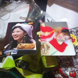 Twice Sana Yes Cards