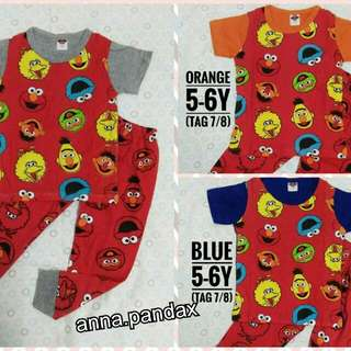 Elmo set pyjamas unisex (brand new)