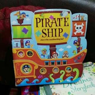 Pirate ship baby board book