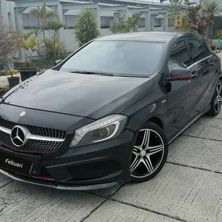 Mercedes BENZ A250 sport / 2013 / Body kit karbon