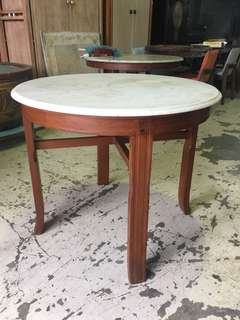 Antique Mable table (fully refurbished)
