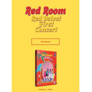 [PREORDER] RED VELVET (레드벨벳) - First Concert Red Room PHOTOBOOK