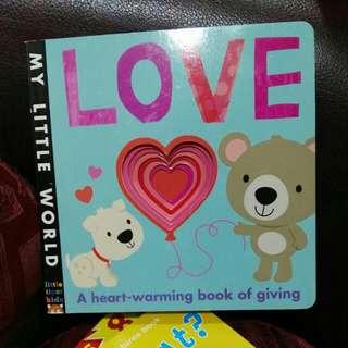 Love boardbook