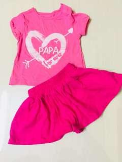 Set shirt + pants baby