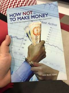 How not to make money
