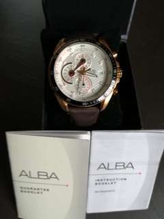 Alba Men's Chronograph Watch