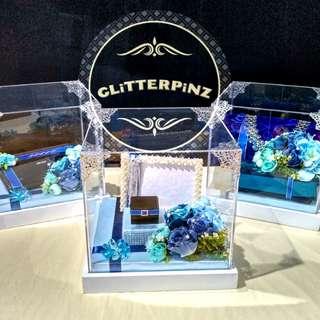 Gubahan dulang hantaran / nikah package / engagement / wedding gift trays