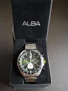 Alba Signa Men's Chronograph Watch