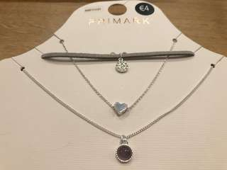 Brand New Auth Primark Necklace Set
