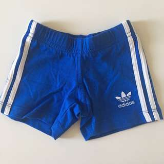 Adidas 3 months kid/baby sport pant blue